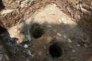 lubang pengeboran strauss
