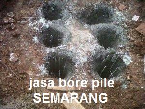 JASA BORE PILE MURAH SEMARANG
